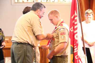 Eagle Scout Awards, Tylers, St. John's Church, Tamaqua (9-30-2012)