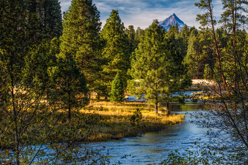 Metals River, Mount Jefferson
