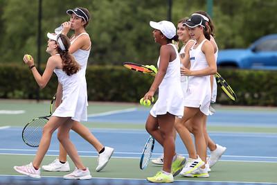 4.21.21 CSN Girls Varsity Tennis vs St. Stephens - Regionals