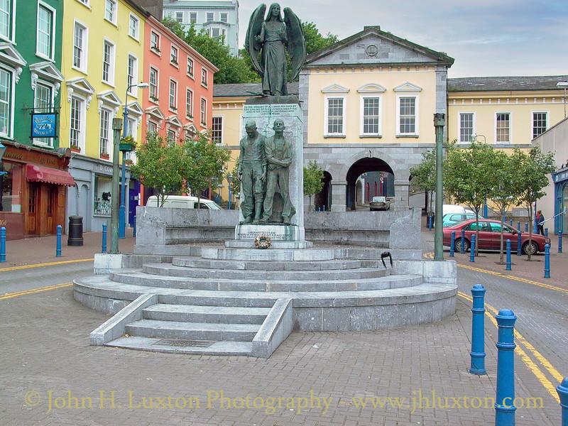 Lusitania Peace Memorial, Cóbh, County Cork, Eire - May 28, 2003