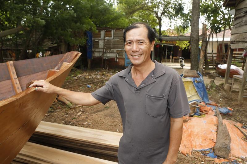 A master boat builder