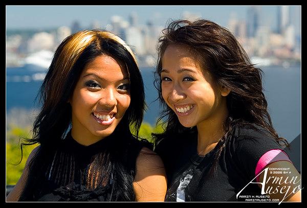 Mary Ann and Jestine Around Seattle