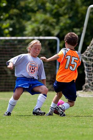 KFC U9 Girls Soccer GM1 08092009