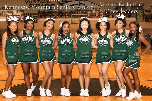 KMHS Basketball Cheer 2017