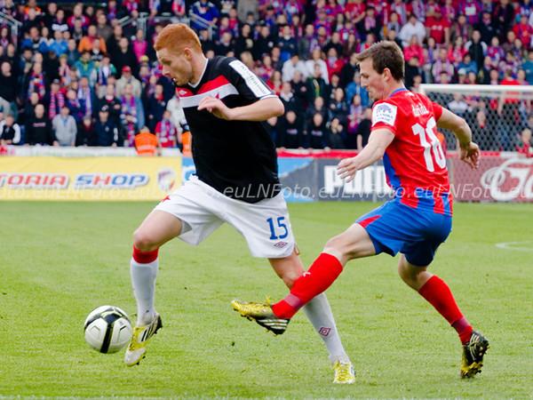 Rozjetá Slavia zdramatizovala boj o titul: Plzeň - Slavia 0:1 (0:1)