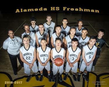 2017 Alameda High Basketball Freshman