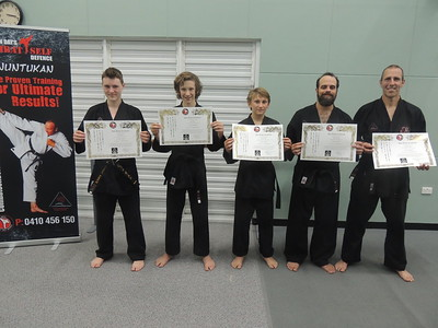 Combat Self Defence Black Belt Gradings 2016