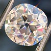 2.25ct Antique Cushion, GIA K SI2 6