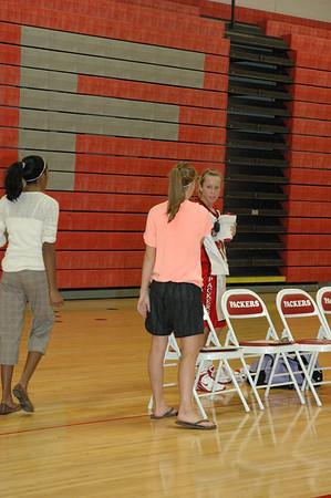 Girls Varsity Basketball - 2006-2007 -  10/3/2006 Orchard View JG