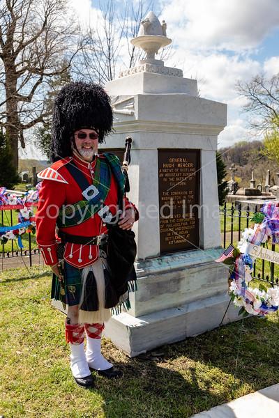 General Hugh Mercer Memorial Ceremony at Laurel Hill 2019