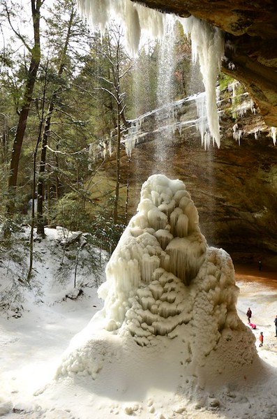 Winter Hocking Hills