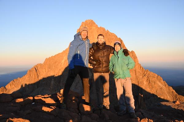 Mt. Kenya February 11-20, 2018