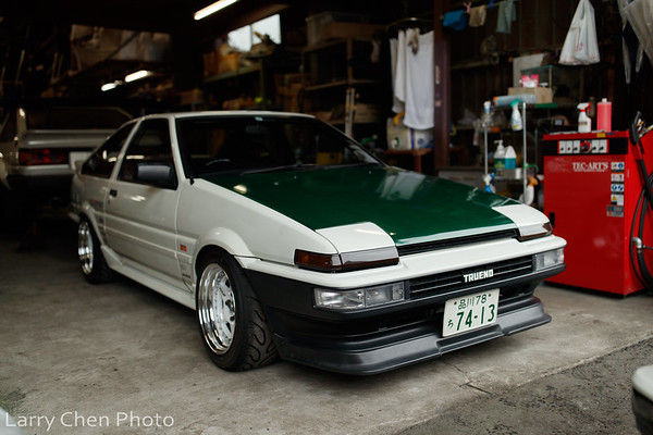 Tec-Arts: Ultimate AE86 Shop
