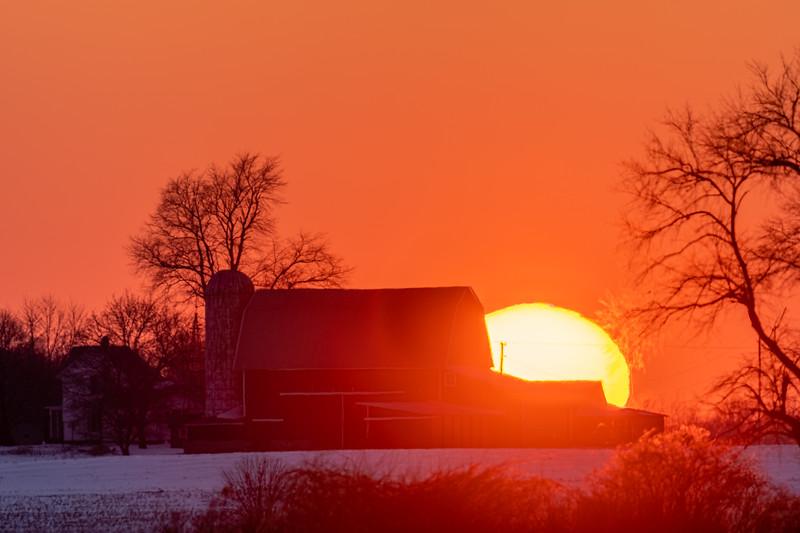 sunset over the Webber's barn 2-16-20-16.jpg