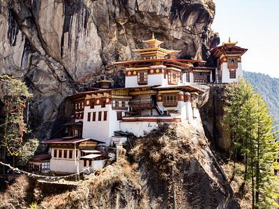 Tiger's Nest Monastery near Paro, Bhutan