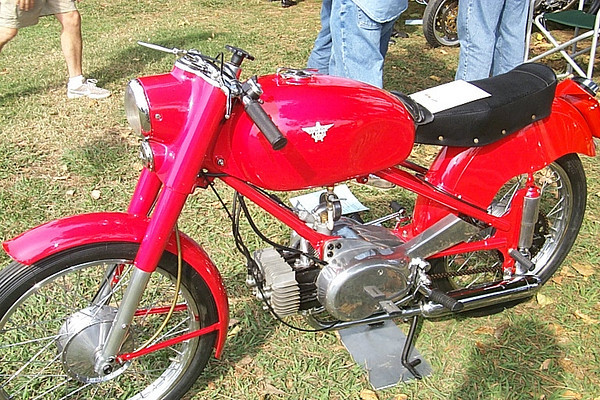 Moto Rumi 125 2 stroke twin