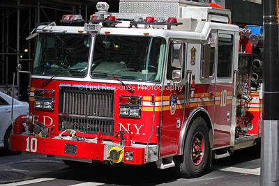 The Ten House. NYFD. New York City 9/11/16