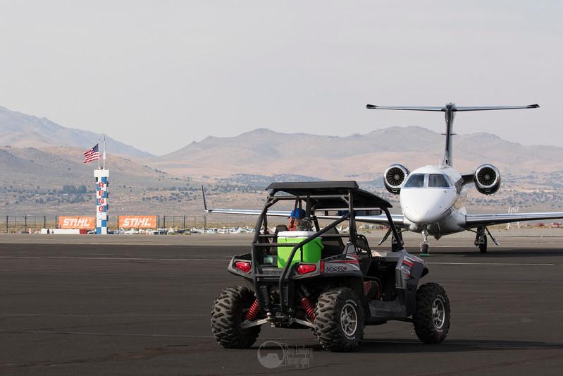 Polaris RZR 800 and Cessna Citation