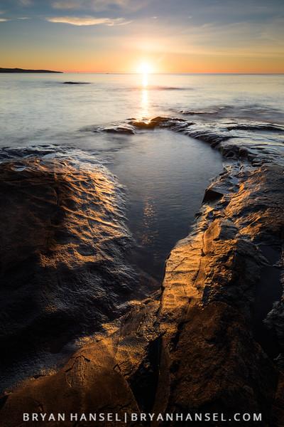 September Sunrise from the Point