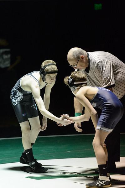 Tigard HS Varsity Wrestling v Lake Oswego