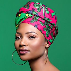 African Studio Photo Shoot