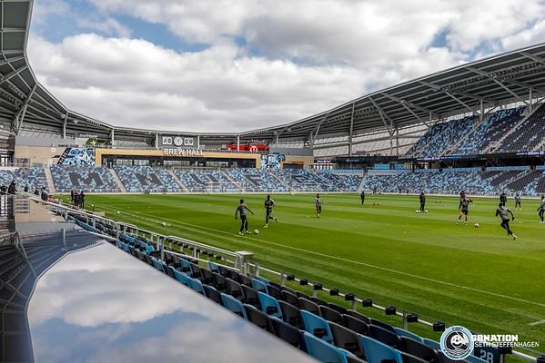 Minnesota United First Team Training At Allianz Field - 2021