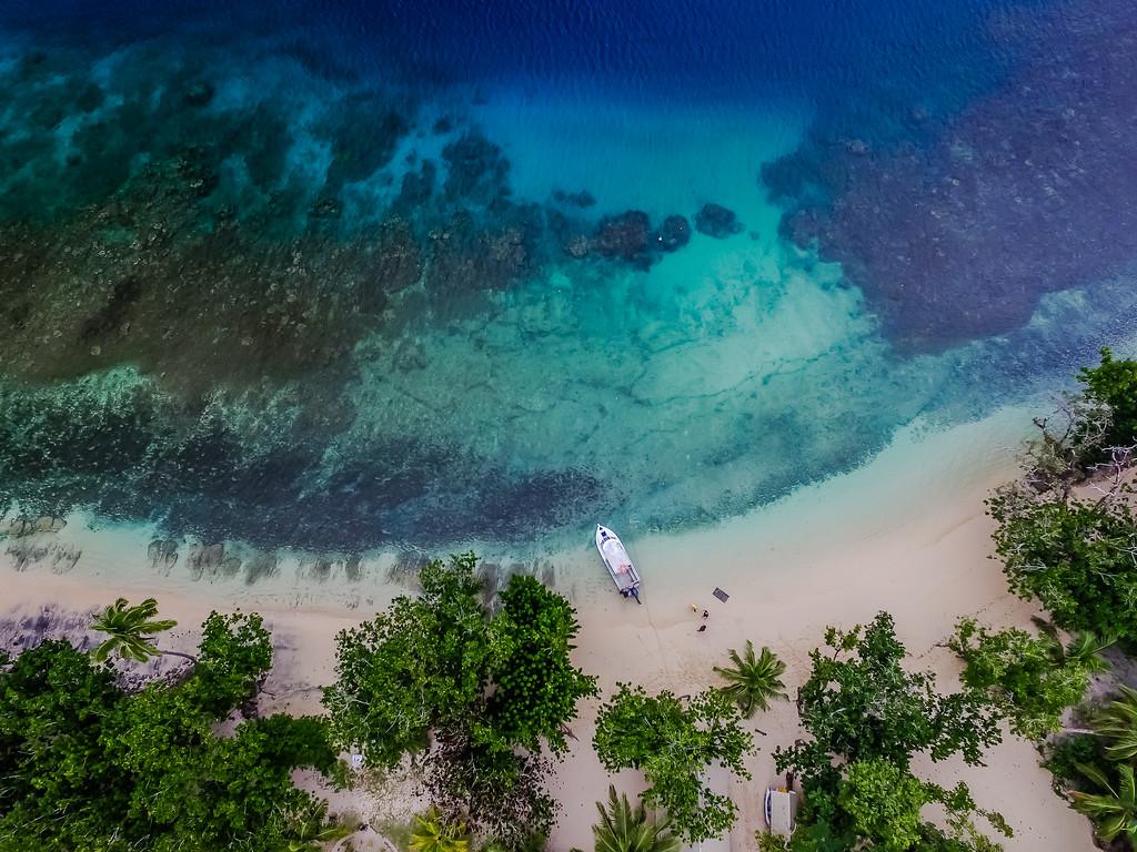 Fiji drone photo