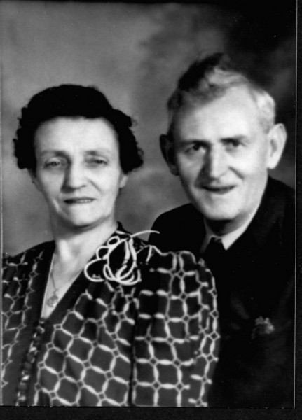 Annie & Tom Canfield, her second husband.