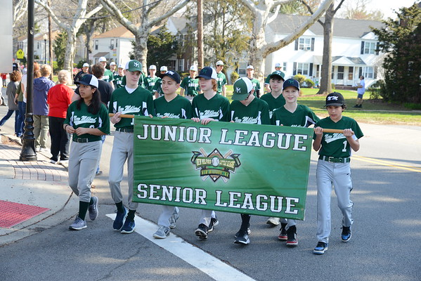New Milford Little League Opening Day 2018