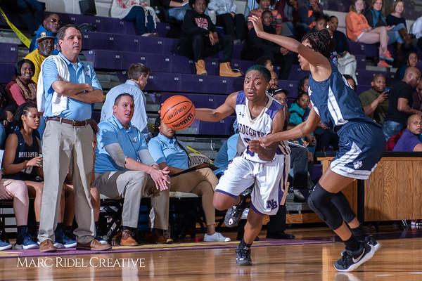 Broughton girls varsity basketball vs Millbrook. February 15, 2019. 750_7303
