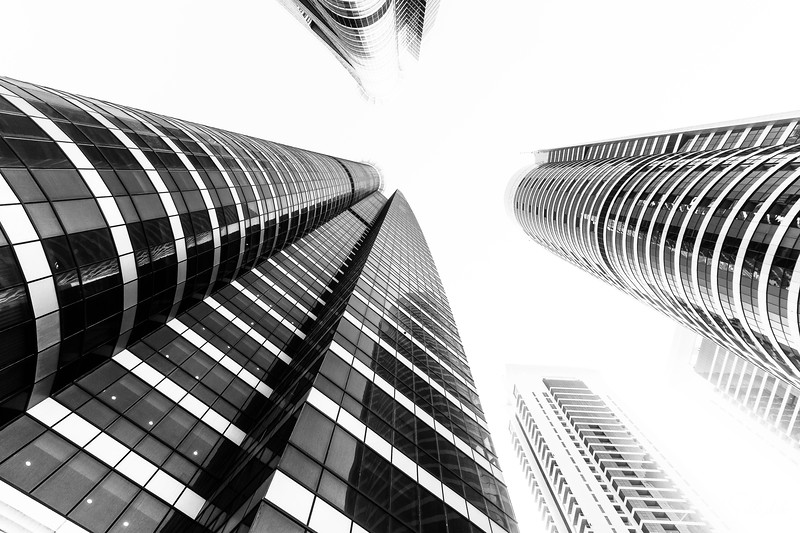 Looking Up in Dubai