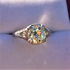 1.88ctw Platinum Filigree Solitaire Ring by C.D. Peacock, GIA S-T, VS 34