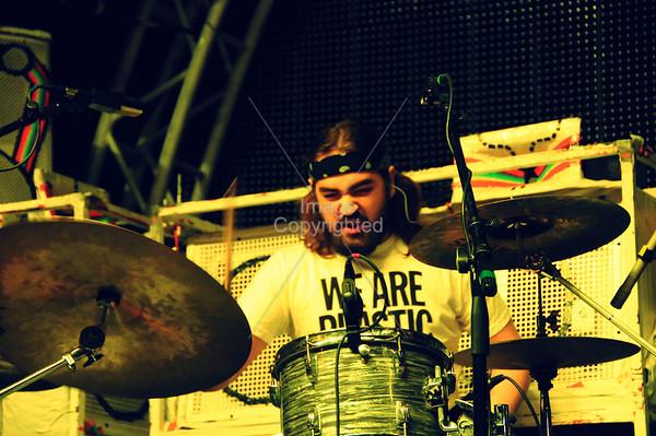 Hugh Mallard,Plastic Ono Band, New Years Freakout 5. January 1, 2012. Oklahoma City, Oklahoma.