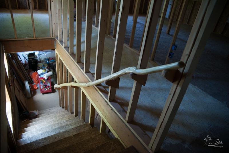 handrail mounted