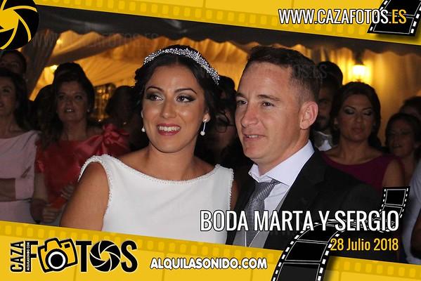 BODA MARTA Y SERGIO - 28 JULIO 2018