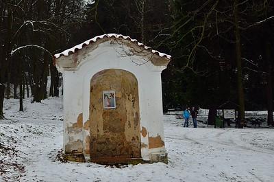 Novoroční rodinný výlet na Skalku a do Mníšku pod Brdy