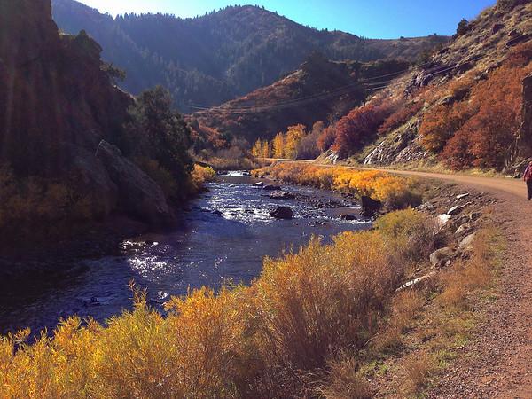Waterton Canyon Hike Nov 2013