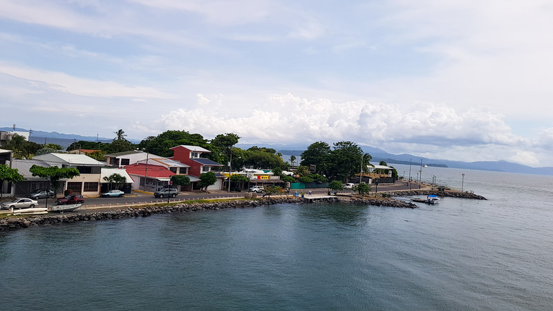 View of the end of Puntarenas, Costa Rica