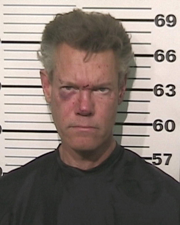 . This photo provided by the Grayson County, Texas, Sheriffís Office shows Country singer Randy Travis who has been charged with driving while intoxicated. Authorities say Travis was being jailed without bond Wednesday, Aug. 8, 2012, pending an appearance before a judge in Sherman, Texas, about 60 miles north of Dallas. (AP Photo/Grayson County Sheriff\'s Office)