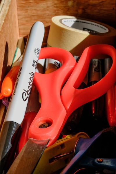 the kitchen drawer
