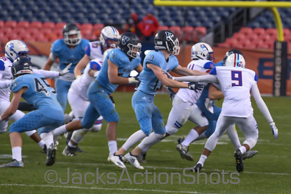 5A Championship Game - Cherry Creek 14 Valor 24 - December 1 2018