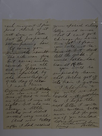 AC's Letters to Anna B 18 1899 - 1905