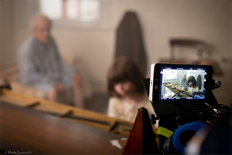 Metronome (In Time) - on set, camera check