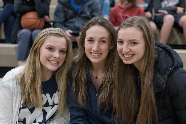 2019-20 Girls Varsity Basketball at West Linn