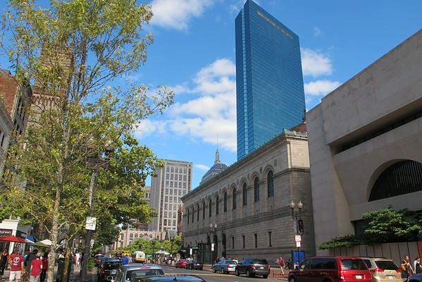 WALKING BOSTON   COPLEY SQ  8.14.2014