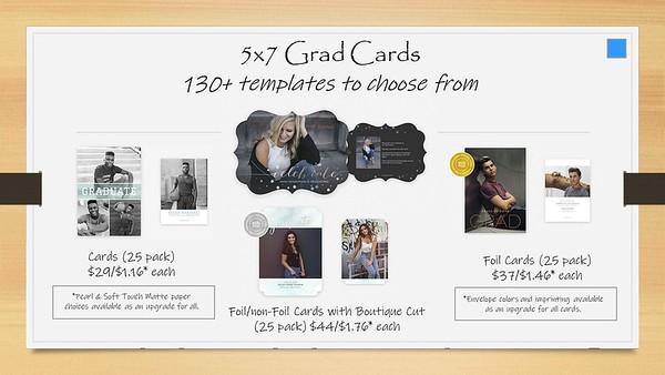 Senior 5x7 Cards