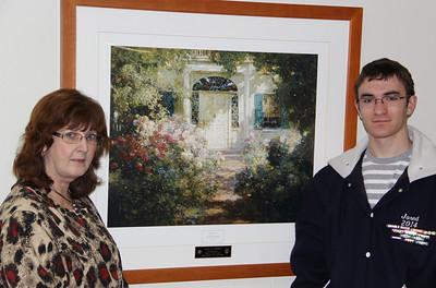 Art of Caring, Tamaqua LEO Club, St Luke's Hospital, Coaldale (3-25-2013)