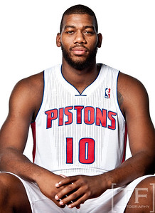 Detroit Pistons Media Day 10/1/12