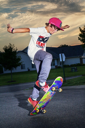 Skateboarding With Flash