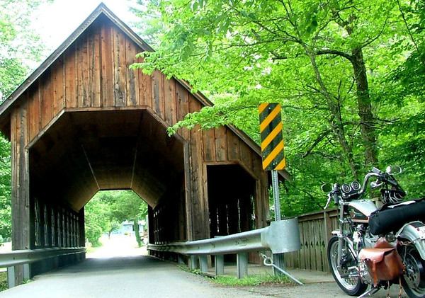 Emerts Cove (covered bridge)  and Seiverville